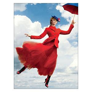 Хардпостер (на твёрдой основе) Mary Poppins. Размер: 45 х 60 см